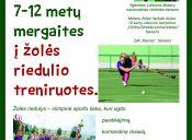 Kviečiame 7 – 12 metų mergaites į žolės riedulio treniruotes